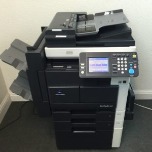 Konica Minolta Bizhub 362 Copier Printer Scanner Network & Fax LOW use 261k