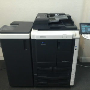 Konica Minolta Bizhub 601 Copier Printer Scanner & Staple LOW 286k total pages